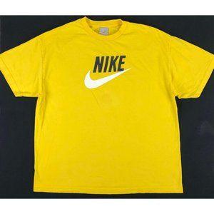 Vintage Nike Big Center Swoosh T Shirt Men XXL